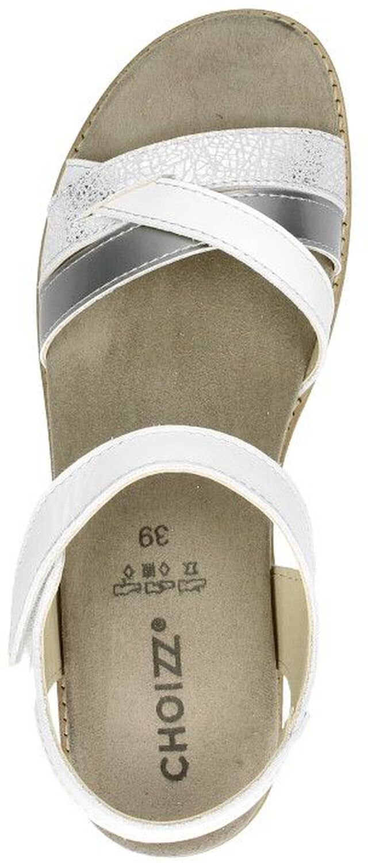 Choizz Comfortabele dames sandalen Wit FHrov