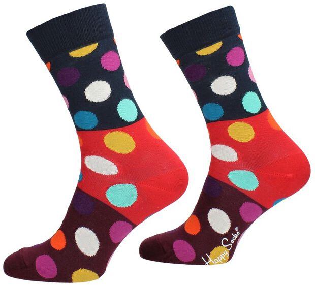 Big Dot Block Sock - large