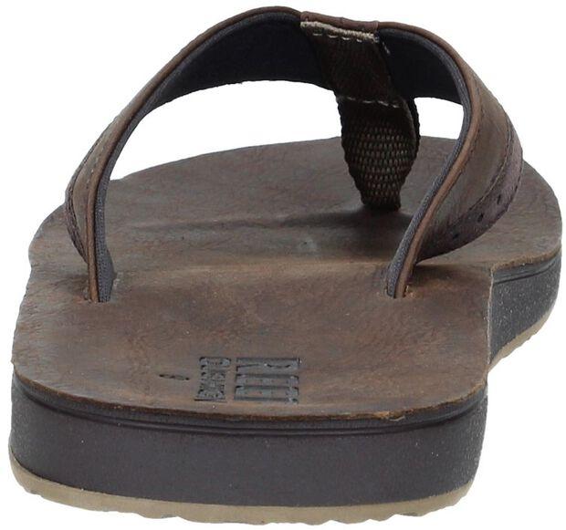 Leather Contoured Cushion - large