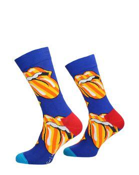 Rolling Stones Tumbling Stripes Sock