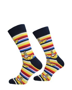 Beatles All On Board Sock