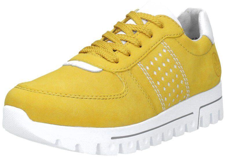 Dames sneakers geel