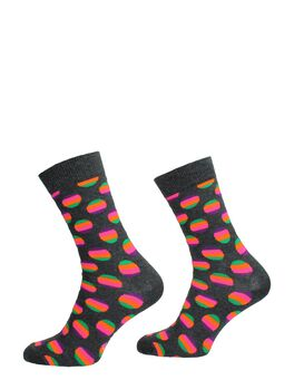 Sunrise Dot Sock