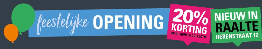 Topbanner opening winkel raalte