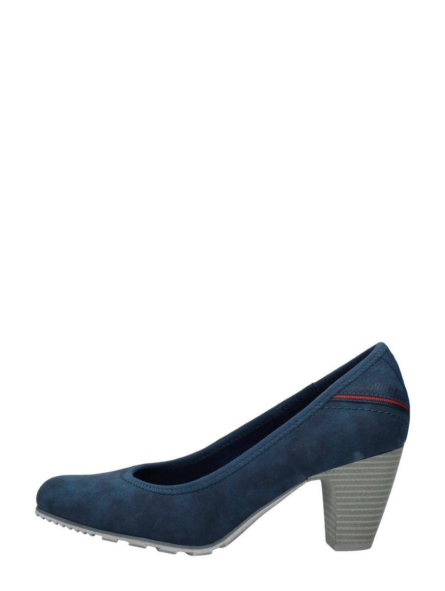 S.oliver - Dames Pumps  - Blauw
