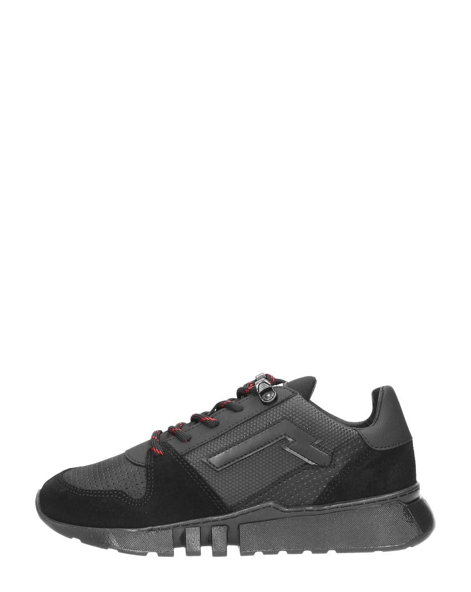 Red Rag - Jongens Sneakers  - Zwart