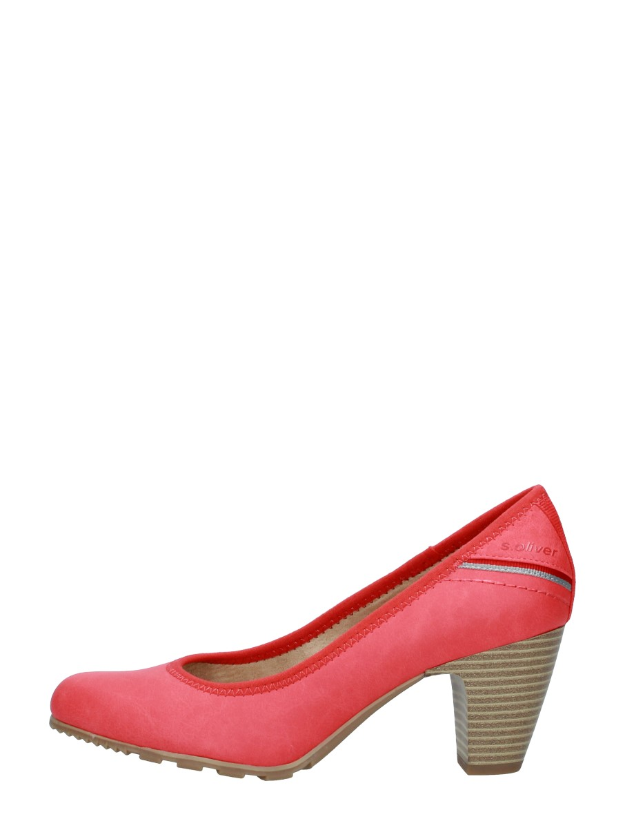 S.oliver - Dames Pumps  - Rood
