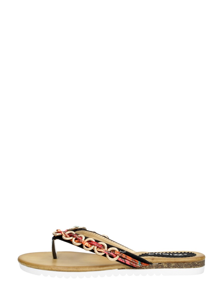 Choizz - Dames Slippers  - Zwart