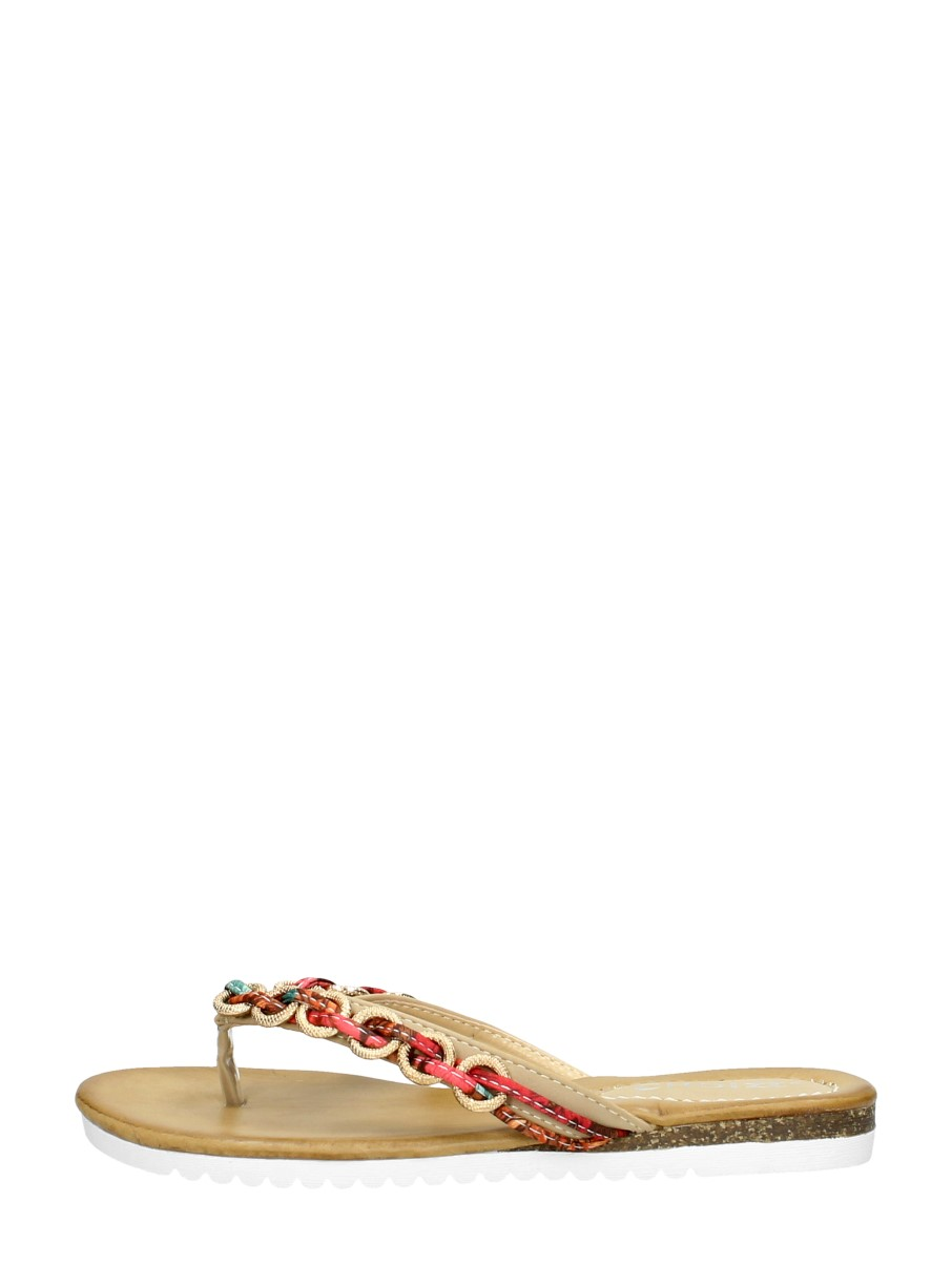 Choizz - Dames Slippers  - Beige