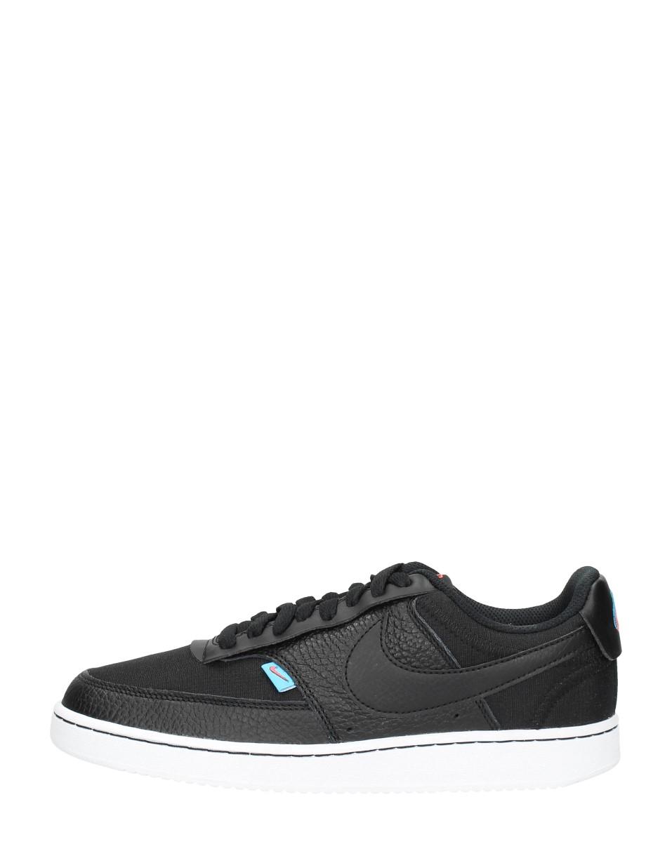 Nike Court Vision Low Premium Zwart