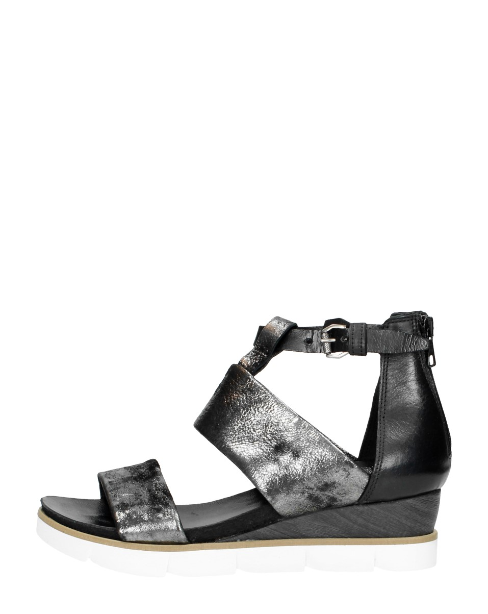 Mjus - Dames Sandalen  - Zwart