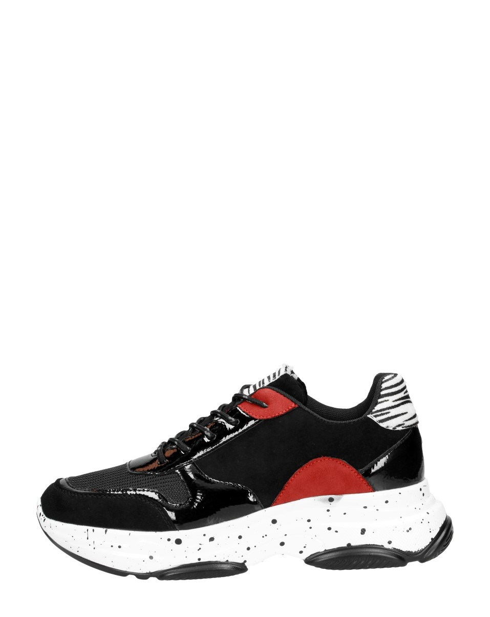 Visions - Bulky Sneakers  - Zwart