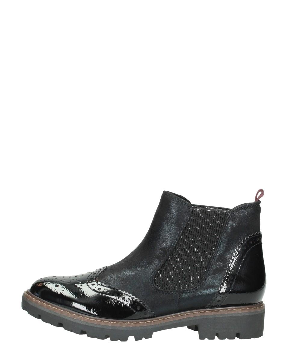 Marco Tozzi - Chelsea Boots  - Zwart