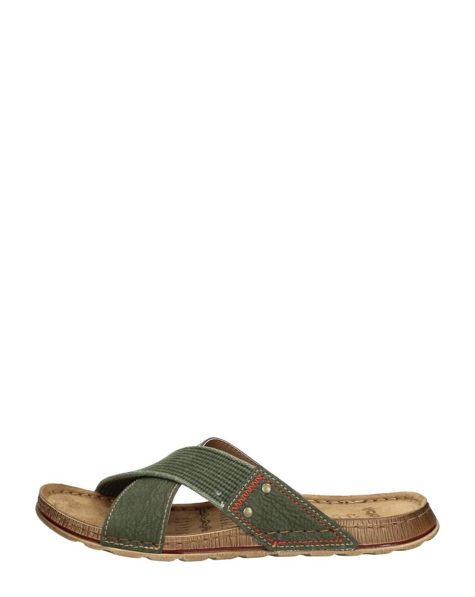 Inblu - Heren Slippers  - Groen
