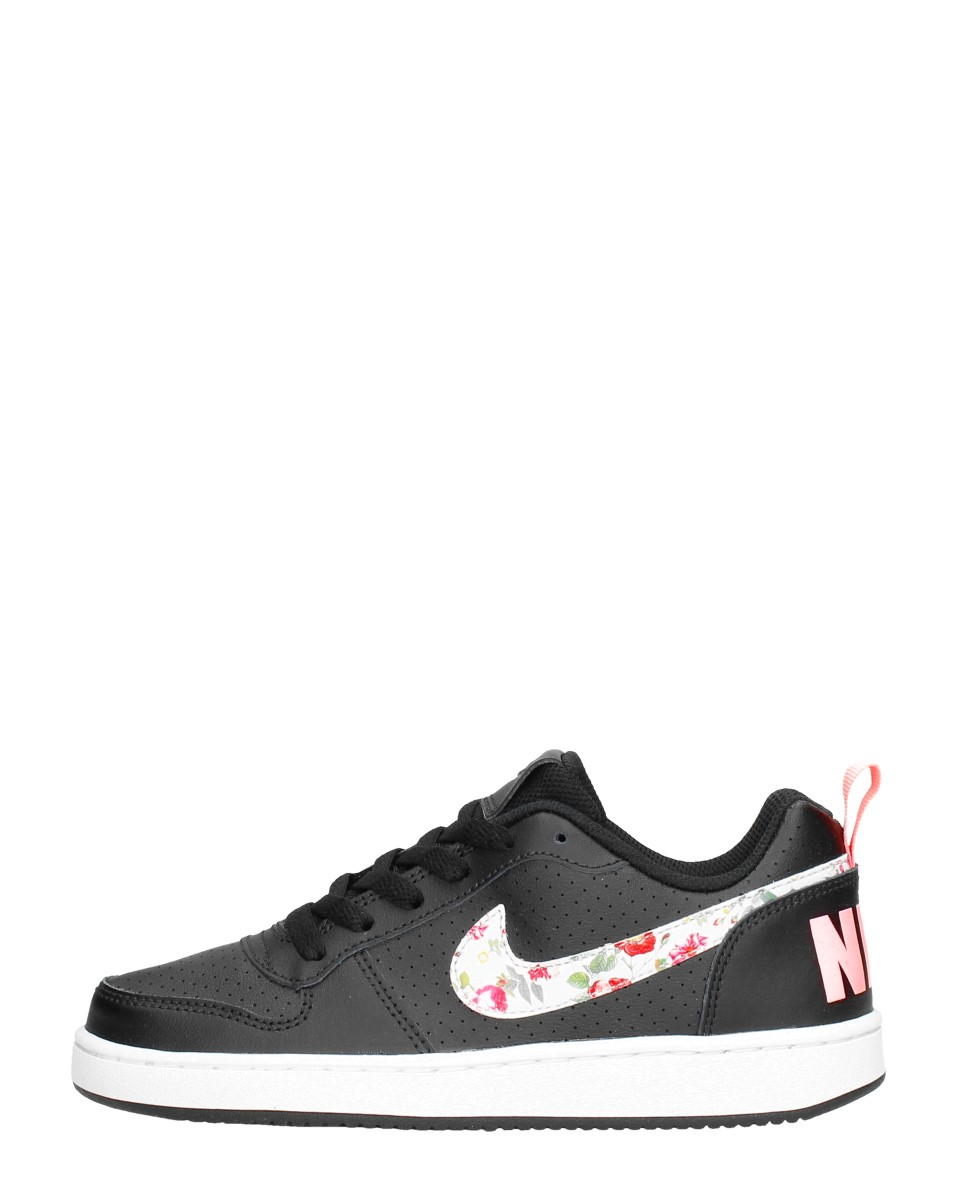 Nike - Court Borough Low  - Zwart