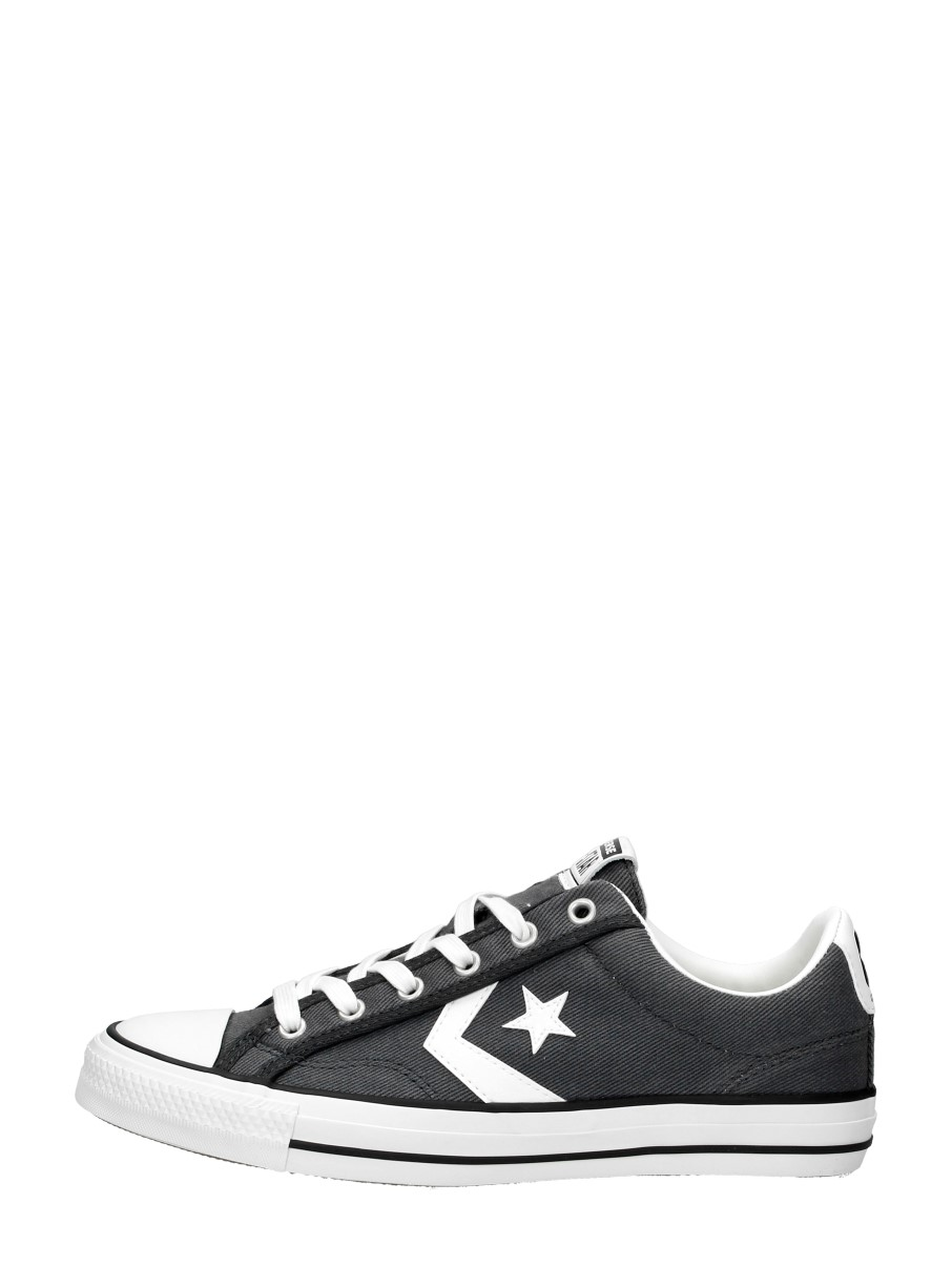 Converse - Star Player Ox  - Donkergrijs