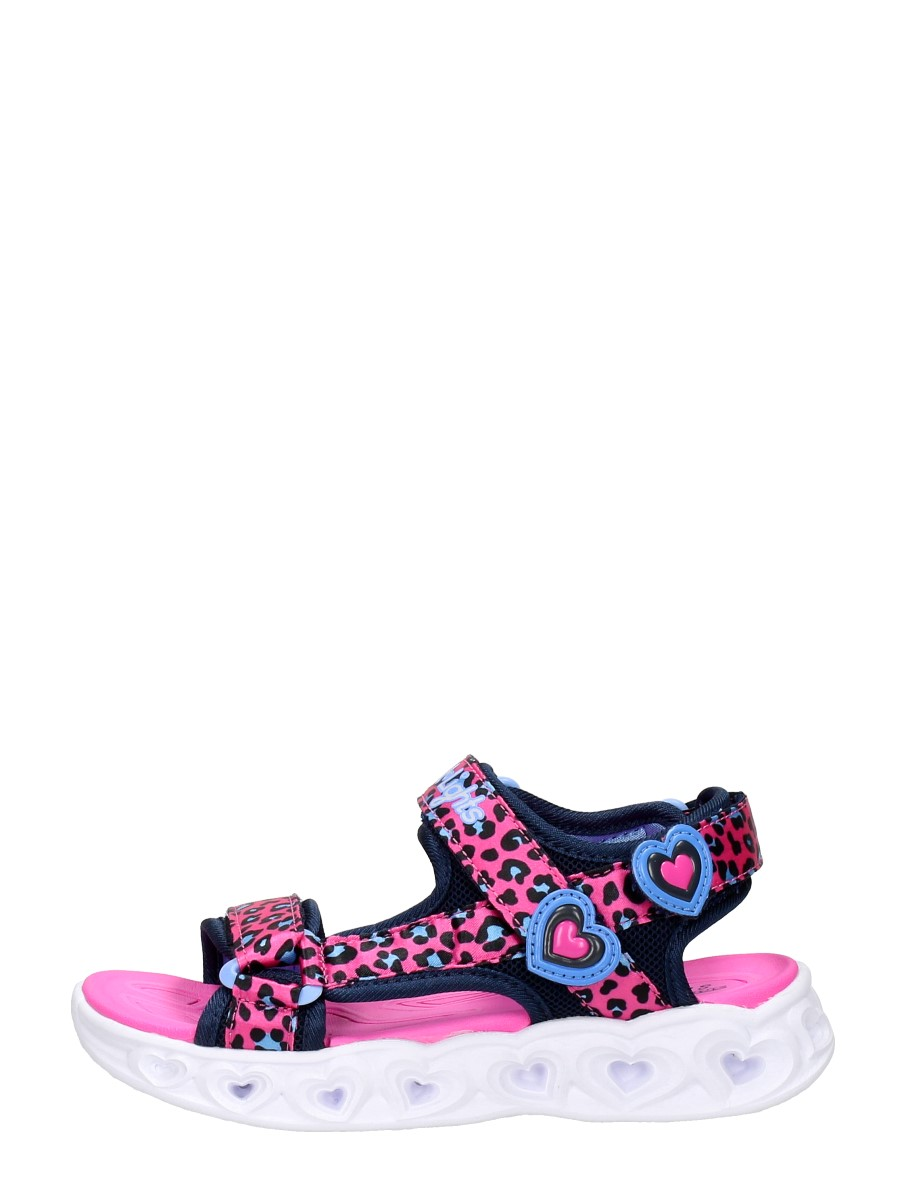 Skechers - Heart Lights Sandals Savvy Cat