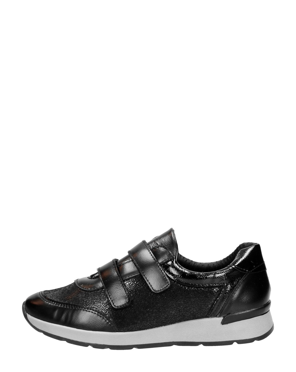 4xcomfort - Dames Klittenbandschoenen  - Zwart