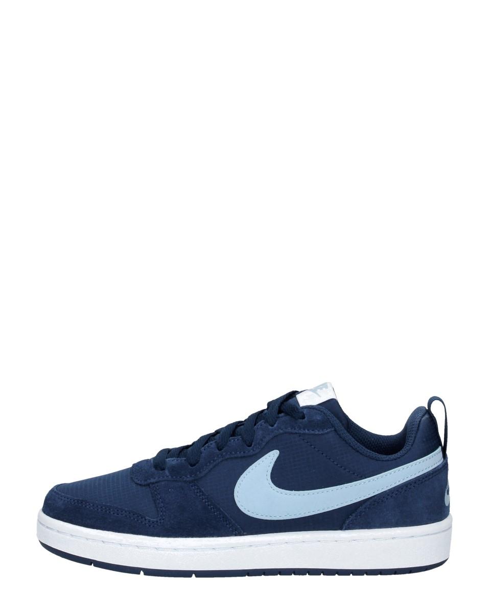Nike - Court Borough Low 2  - Blauw
