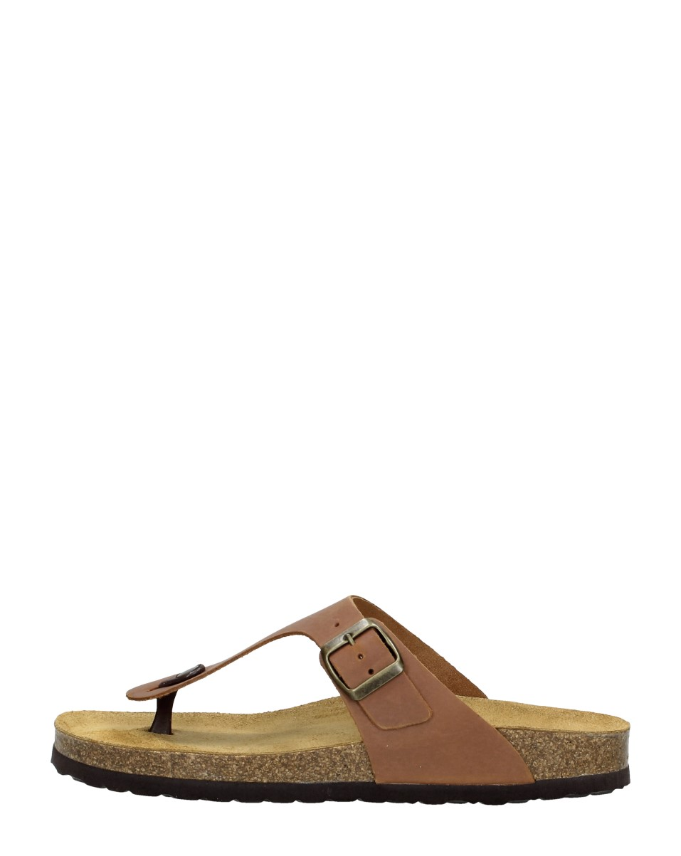 Choizz - Heren Slippers  - Cognac