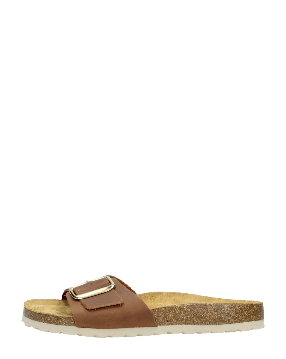 Choizz - Dames Slippers  - Cognac