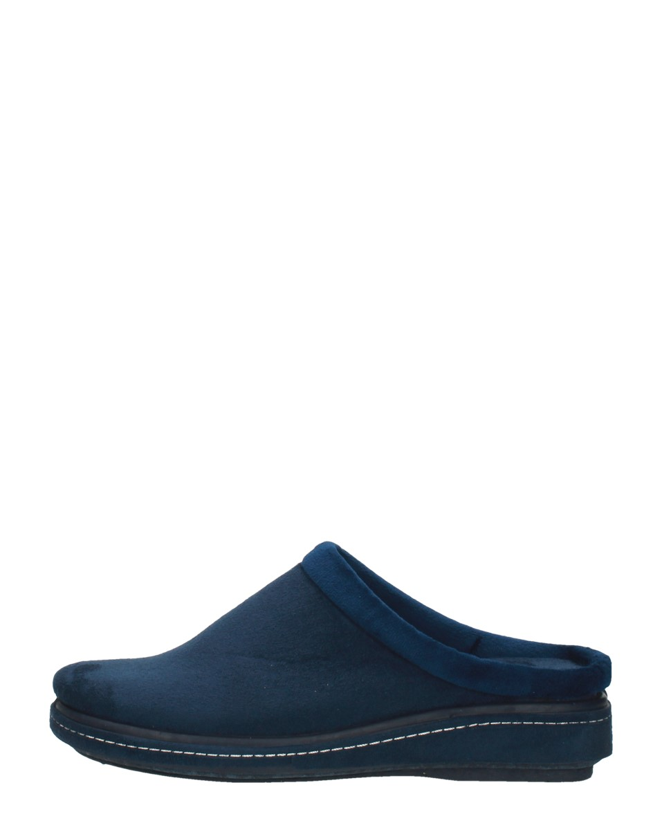 Vulcarini - Dames Pantoffels  - Blauw