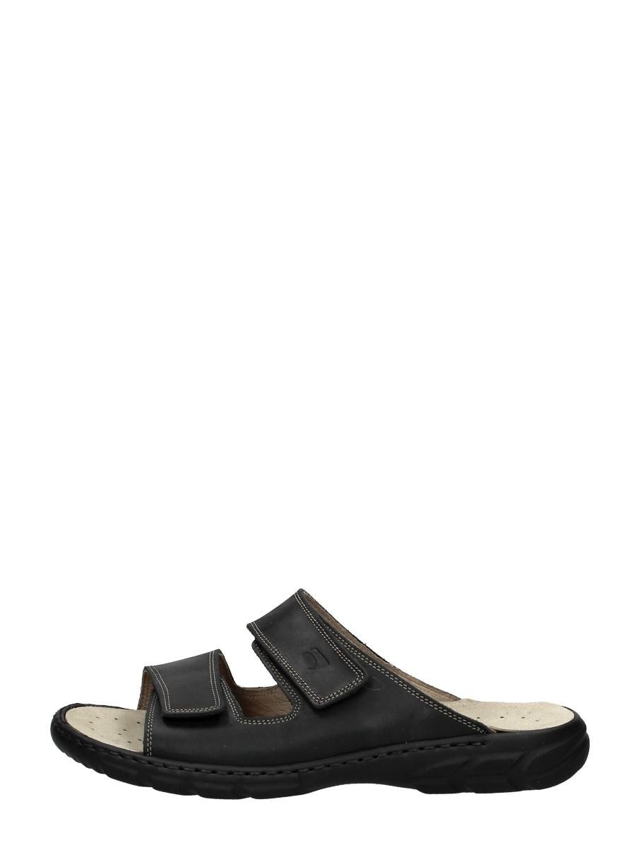 Rohde - Heren Slippers  - Zwart